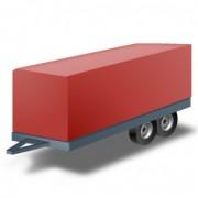 Servicios de transporte de mercancía o vehículos pequeños como: Motos, bicicletas, Quads ...